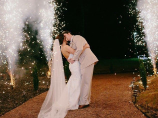 wedding fireworks, louisiana